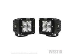 Picture of HyperQ LED Auxiliary Light - Pair - 3.2 x 3 in. 5W Cree Flood Beam