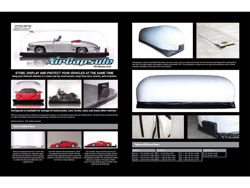 Picture of 3D MAXpider Air Capsule Car Cover - Tall - Large - 216 in. x 76 in. x 80 in.