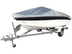 Picture of 3D MAXpider Grand Tex PRO 600D Boat Cover - 14 in. - 16 in. Beam Width Up To 90 in. - Silver
