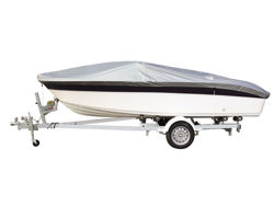 Picture of 3D MAXpider Grand Tex PRO 600D Boat Cover - 20 in. - 22 in. Beam Width Up To 100 in. - Silver